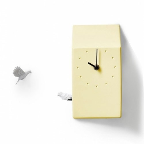 Cuckoo X CLOCK - Home (Yellow)