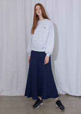 COTTON LONG SKIRT_NA