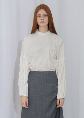 WRINKLE BLOUSE_IV