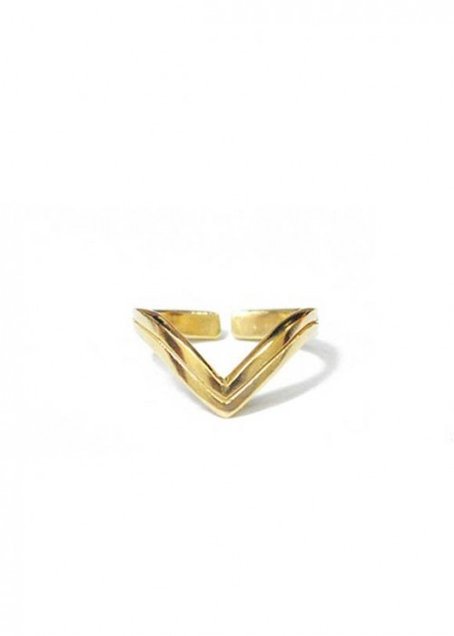 Arrow Point Ring - gold [이청아 착용]