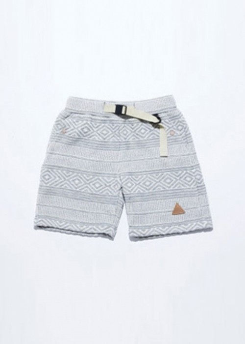 19' KNIT SHORTS_GREY
