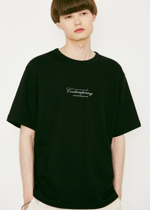V366 CONTEMPORARY HALF-TEE_BLACK