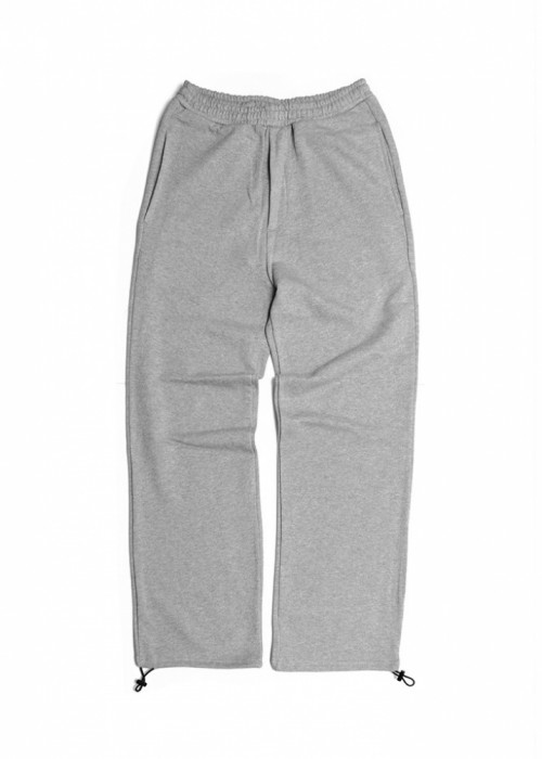SWEAT EASY PANTS_MELANGE GRAY